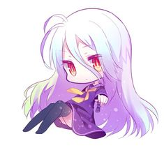Shiro | No game No life.
