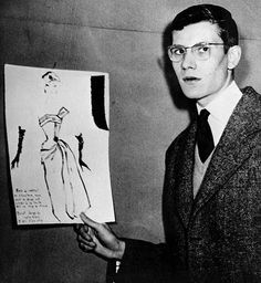Yves Saint Laurent (1954) This is like the best picture ever