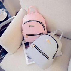 a moderno piel sintetica mini mochila viaje bolso escuela mochila bolso estrictas Cute Mini Backpacks, Grey Backpacks, Stylish Backpacks, Leather Backpacks, Women's Mini Backpack, Backpack Bags, Small Backpack, Travel Backpack, Mini Mochila