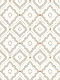 Bungalow, a feature wallpaper from Thibaut, featured in the Resort collection.