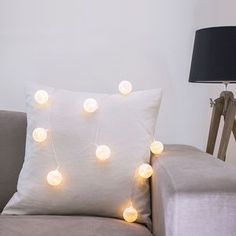 "Cotton Ball Fairy Lights | Introducing #Hygge – our favourite new excuse to snuggle under a chunky knit with a cup of cocoa. Pronounced ""hooga"", this Danish trend is all about embracing cosiness and enjoying the good things in life surrounded by your favourite people. That definitely sounds like something we can get on board with."