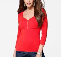 c8f1925005 Details about NWT Sexy CACHE Zipper Corset Stretch Dress Top RED WHITE BLACK  M L XL
