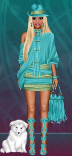 Diva Chix member, beauty_chic is showing some style in #teal! Check out that…