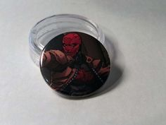 Comic Book 1.5 Button// Red Hood, $1.00