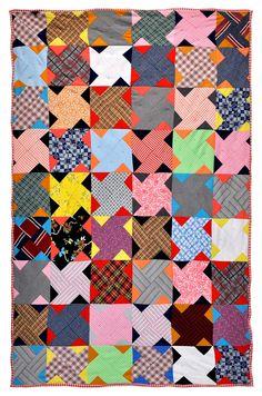 "Wonkyworld: Portland Polyester Pinwheel - ""Twin Sister"" or ""Whirled"" Pattern"