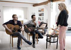 Jonatan Spang, Casper Crump og Mille Lehfeldt. TalentTyven har premiere den 11. oktober 2012.  Copyright SF Film
