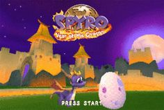 Spyro !-omg!!! the first game i played on my ps2!!!