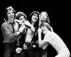Journey 1981 Jonathan Cain, Neal Schon, Steve Perry, Steve Smith and Ross Valory Sound Of Music, New Music, Gregg Rolie, Journey Band, Journey Journey, Archive Music, Neal Schon, Journey Steve Perry, Steve Smith