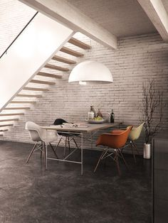 3d renders of a loft-space losely inspired by a design of fernlund+logan