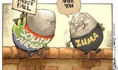 CARTOON: Left with egg on our face… Jacob Zuma, Political Cartoons, South Africa, Eggs, African, Comics, Fall, Autumn, Fall Season