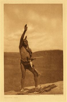 Sioux Invocation (1907) by Edward S. Curtis