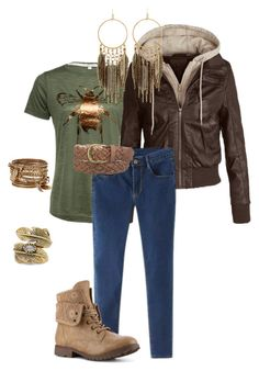 """""""Bee Casual"""" by tammiejewels on Polyvore featuring maurices, ALDO, Natalie B and Panacea"""