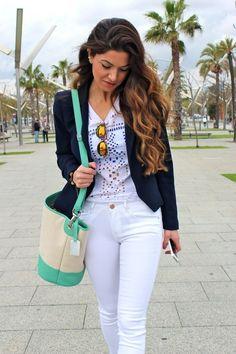 Barcelona Street Style via NEGIN MIRSALEHI