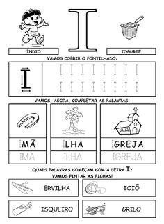 Alfabetizando com Mônica e Turma: Alfabeto - atividades Handwriting, Alphabet, Math Equations, Education, Learning, Homeschooling, 233, Kamakura, Professor