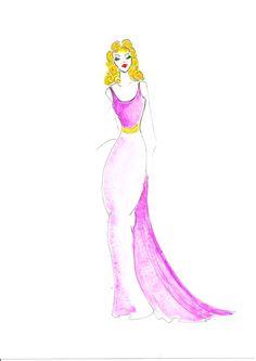 Vintage Glamour Illustration. Illustrator: Gillian Didham