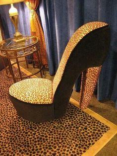 slipper high heel Chair