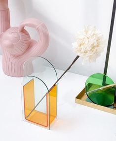 Arch Vase Acrylic Plastic Glazing vase Clear Minimalist   Etsy Acrylic Plastic, Acrylic Box, Minimalist Living, Minimalist Decor, Glass Planter, Acrylic Material, Box Design, Simple Way, House Warming