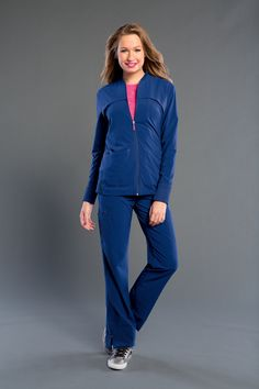 NEW! Love your Smitten? You'll definitely love the NEW 303008 TOUR Jacket! #Smitten #Scrubs #Medical #Fashion #Uniforms #New #Fall #Styles #Nurse #Nursing #CNA #Med #Tech #Heart #Wings