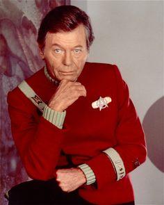 The final portrait of DeForest Kelley as Doctor McCoy from Star Trek VI: The Undiscovered Country Star Trek Vi, Star Wars, Star Trek Original Series, Star Trek Series, Tv Series, Star Trek Enterprise, Akira, Leonard Mccoy, Star Trek Images
