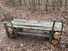 How to Make a Sasquatch Bed for Camp - Turn a long-term survival situation into something out of the Swiss Family Robinson - BY TIM MACWELCH  03/09/2017 - Turn a disheveled survival camp into a luxurious bug-out site with a wooden Sasquatch bed.