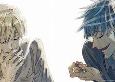 Jean en Nino - ACCA Manga Art, Anime Art, Good Omens Book, Manga Story, Attack On Titan Art, I Believe In Love, Anime Life, Boyxboy, Shounen Ai