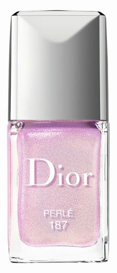 Dior Trianon polish in perle, got to get this top coat for Charlene!!!!!