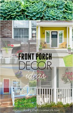front porch decor id