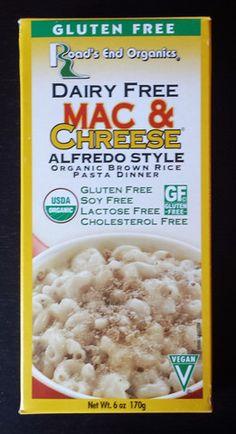 #vegan Road's End Organics - GF Dairy Free Mac & Chreese - Alfredo