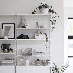 A New Magazine Shelf for the String   The Design Chaser   Bloglovin'