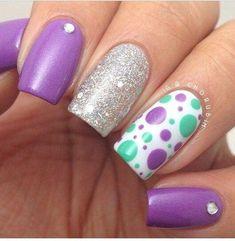 12 diseños de uñas acrílicas que te dejaran con la boca abierta | Belleza