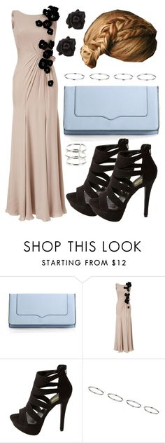 """""""Fleur Yule Ball Outfit"""" by hpstyle ❤ liked on Polyvore featuring Rebecca Minkoff, Jenny Packham, Charlotte Russe, Marc by Marc Jacobs, Topshop, River Island, formal, fleur and yuleball"""