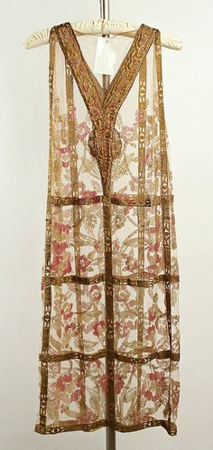 Evening dress Callot Soeurs (French, active 1895–1937)  ca. 1924