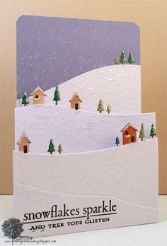 Wow!!  This looks like a card my friend Anita or Wendy would make!