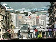 VIDEO: The Last Hurrah for Plane Spotters at Kai Tak Airport - YouTube