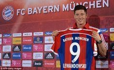 Robert Lewandowski (POL) - From Borussia Dortmund (GER) to Bayern Muenchen (GER) - 2014