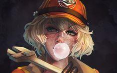 Cindy Final Fantasy Xv, Final Fantasy Xv Wallpapers, Cindy Aurum, Noctis, Cool Backgrounds, Wallpaper Downloads, Looks Cool, Anime Art Girl, Finals