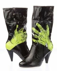 Iron Fist Hand Grave Boots