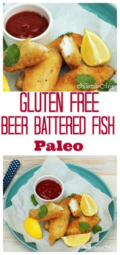 Gluten Free Beer Battered fish. Made with blanched almond and tapioca ...