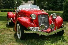 1935 Auburn Boattailed Speedster