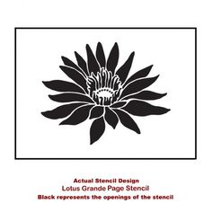 lotus-flower-stencil-design-for-card-making
