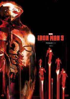 [POSTER] de IMAX de edición limitada para #IronMan3