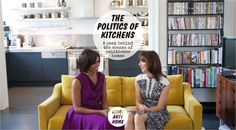 The Politics of Kitchens – a peek behind the scenes of politicians' homes - @homeartyhome