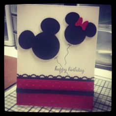 Handmade Mickey Mouse Birthday Card | Best Mickey mouse birthday ...