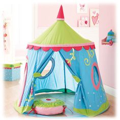 Haba Play Tent Caro-Lini Such a great thing for kids Little Mac, My Little Girl, My Baby Girl, Hula Hoop Tent, Kids Tents, Play Tents, Cool Tents, Pixie, Creative Play