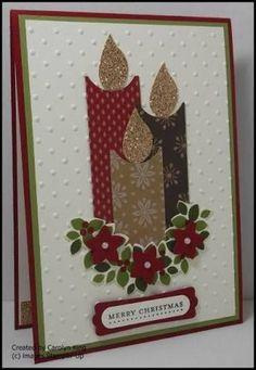 Billedresultat for handmade christmas cards