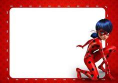 Convite Ladybug – 10 Modelos Surpreendentes! – Modelos de Convite
