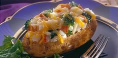 Oven-baked potatoes loaded with classic ingredients like broccoli, bacon and Sargento® Shredded Sharp Cheddar Cheese - Traditional Cut make a great side dish at any meal. Baked Potato Oven, Baked Potatoes, Stuffed Potatoes, Stuffed Peppers, Bacon Bits, Cheddar Cheese, Potato Recipes, Entrees, Side Dishes