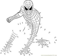 Spider Man Connect the Dots