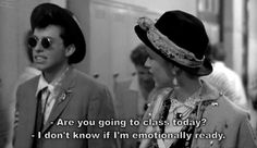 Pretty In Pink + John Hughes + Molly Ringwald + John Cryer + Duckie + Film + Quotes + School 80s Movies, Famous Movies, Great Movies, Movie Tv, 80s Movie Quotes, Funny Tv Quotes, Funny Pics, Famous Film Quotes, Movie Shelf