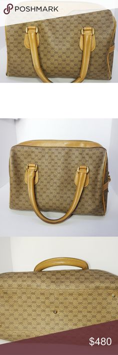 3cd256e97678 Authentic vintage Gucci bag This bags is vintage so yes there is wear